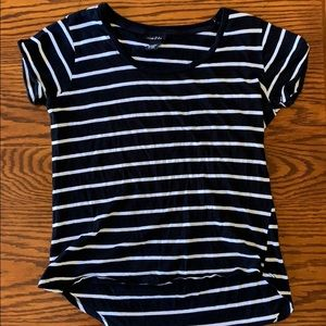 RUE 21 STRIPED TEE SHIRT